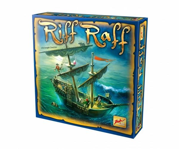 Riff Raff - Das große Abenteuer Spiel für große und kleine Piraten