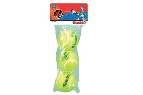 3er Pack Tennisbälle im Beutel tolle Bälle für Freizeit und Sport