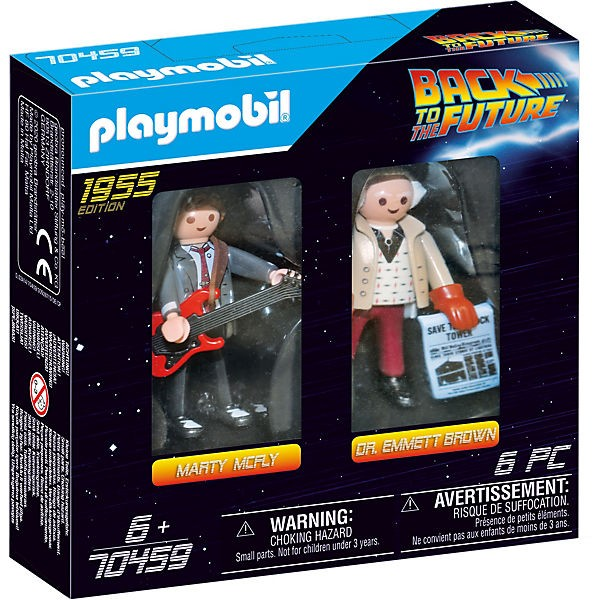 Playmobil Back to the Future 70459