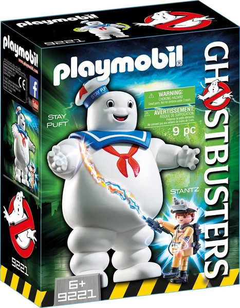 Playmobil Ghostbusters 9221 Stay Puft Marshmallow Man + Stantz