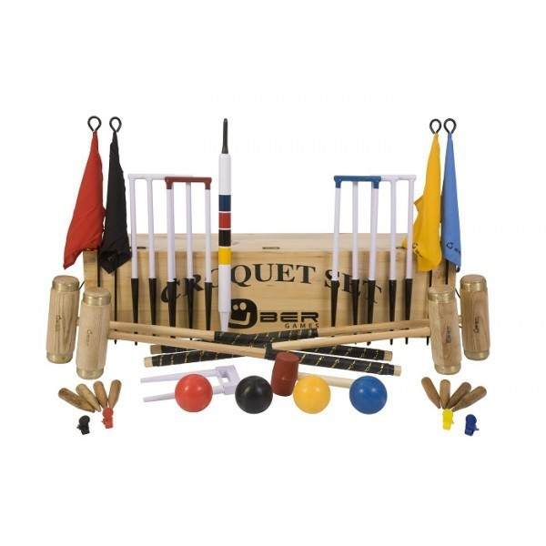 Croquet 6 Personen Deluxe - Executive Krocket Set