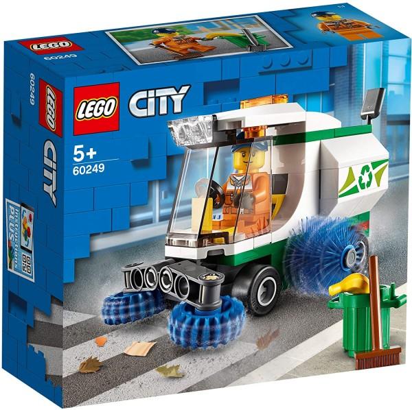 LEGO® City 60249 - Straßenkehrmaschine