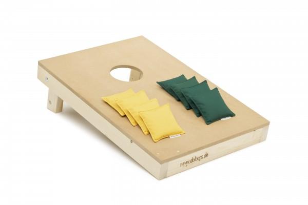Original Cornhole Spielset - 1 Board und 8 Bags als tolles Set