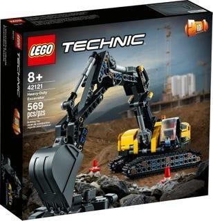 LEGO® Technic 42121 - Hydraulik Bagger - Heavy-Duty Excavator - 2 in 1
