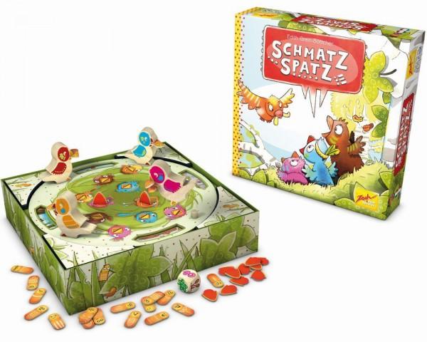 Schmatz Spatz - Spielspaß im Vogelnest als Vogeleltern