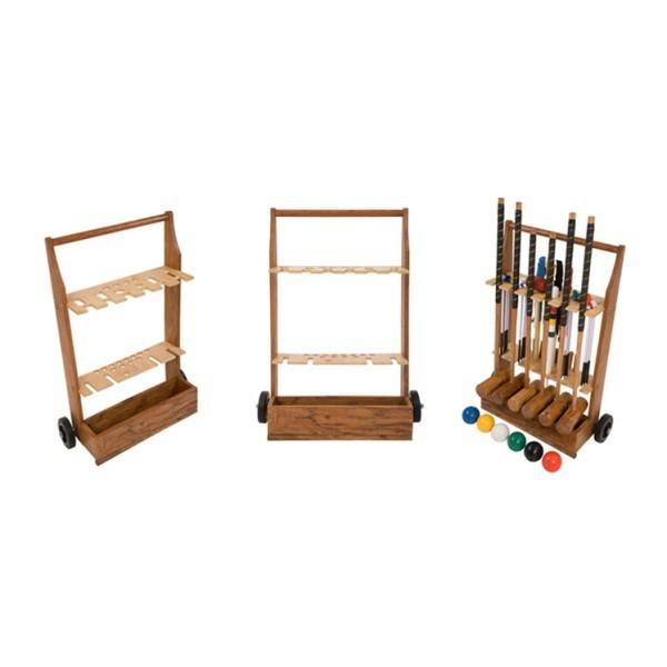 Krocket Trolley / Holzwagen aus Edelholz