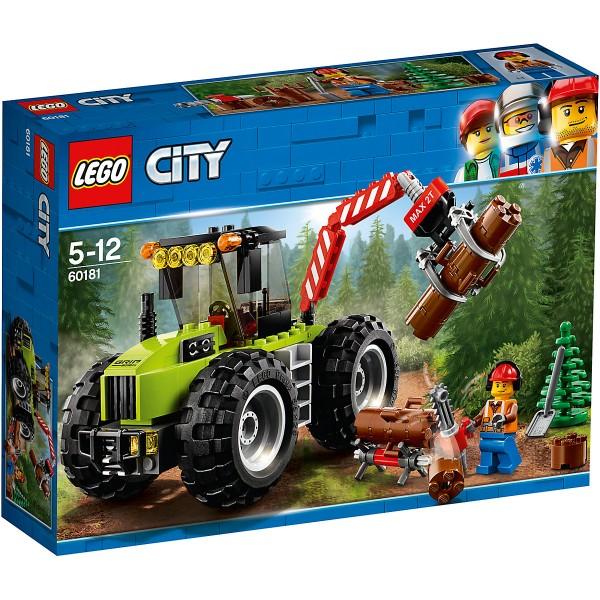LEGO® City 60181 - Starke Fahrzeuge Forsttraktor