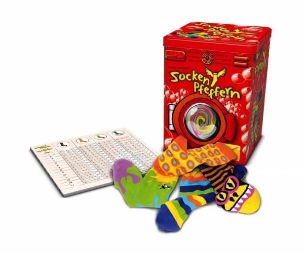 Socken Pfeffern - das super tolle Socken Wurfspiel von Noris