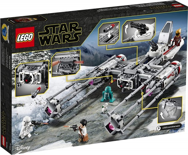 Lego® Star Wars 75249 - Widerstands Y-Wing Starfighter