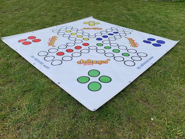 Ludo in XXL - 2 x 2 Meter Spielfeld In- und Outdoor (ohne Spielfiguren)
