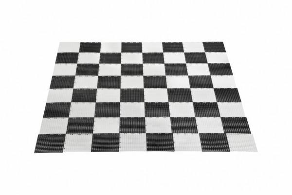 XXL Gartenschachbrett, Größe: 140x140cm, für die Garten-Schachfiguren