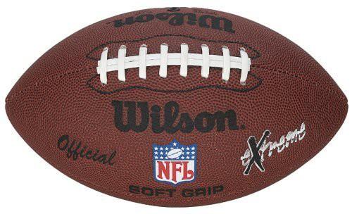Wilson Football NFL Extreme in braun Modell: F1645X Kunstleder