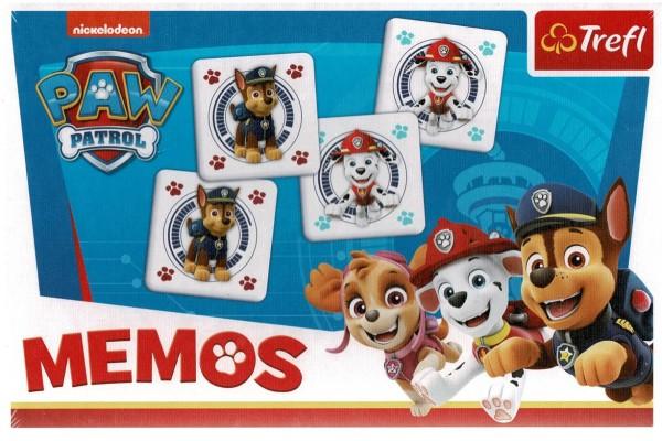 Memos - Paw Patrol / Peppa Pig / FROZEN II - 60 Spielkarten