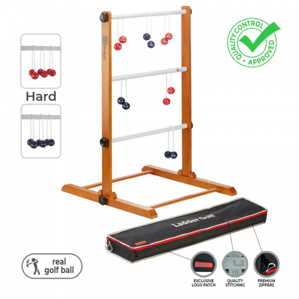 Meister Leitergolf - Laddergolf Spiel mit echten (harten) Golf-Bolas