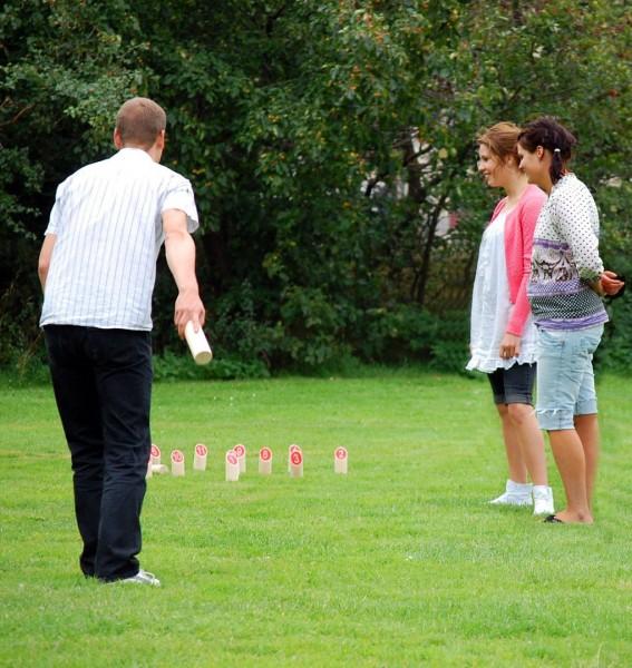 Tactic Games Mölkky Klassik - der finnische Holzspielspaß
