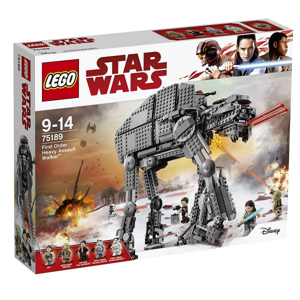 LEGO® Star Wars 75189 - First Order Heavy Assault Walker
