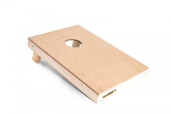 Original Cornhole Spielbrett / Board - natur, farblos 16 mm MDF