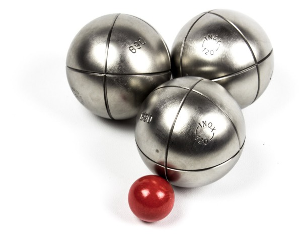 Edles Profi Boule Kugel Set - 3 sehr schöne Deluxe Boule Kugeln