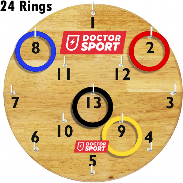 Dart mit Ringen (30x30 cm)