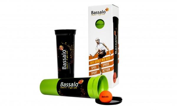 Bassalo - der neue Trendwurfsport - Ball Wurfspiel Set mit Cups