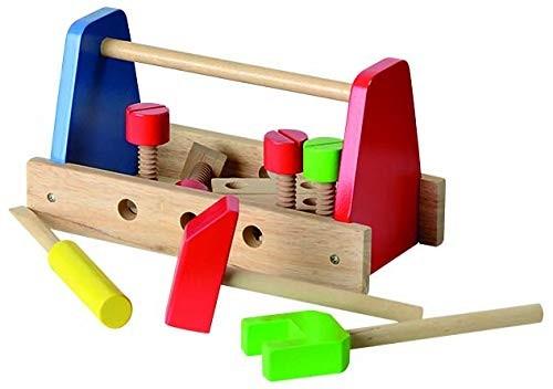 Beluga Kinder Werkzeugkoffer mit Werkzeug - Kinder Holzwerkzeug
