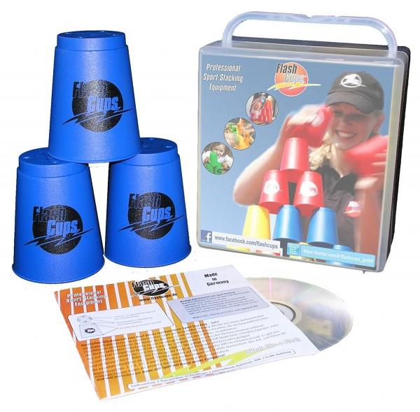 Sport Stacking Set für Schnellstapler - Flash Cups