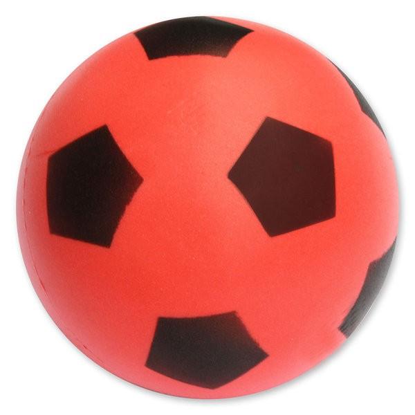 Softball / Softfußball in verschiedenen Farben (rot, blau, gelb)