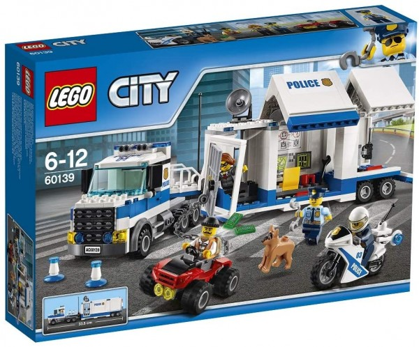 LEGO® City 60139 - Polizei Mobile Einsatzzentrale