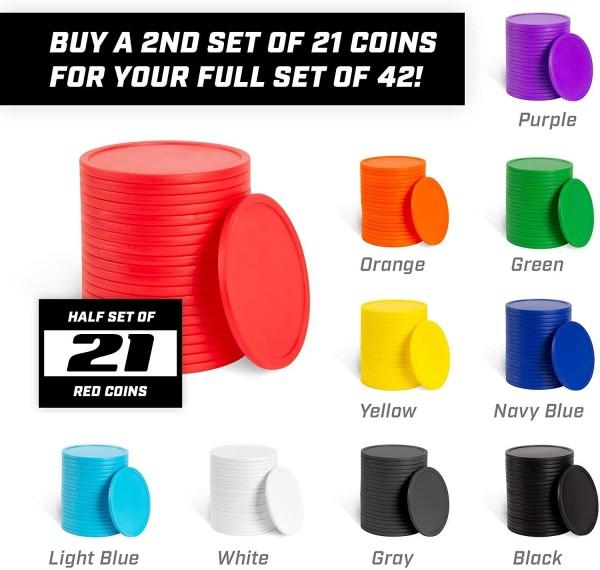 Spielsteine für Mega Vier Gewinnt - 96x83cm (Art.-Nr.: 3026) - verschiedene Farben wählbar