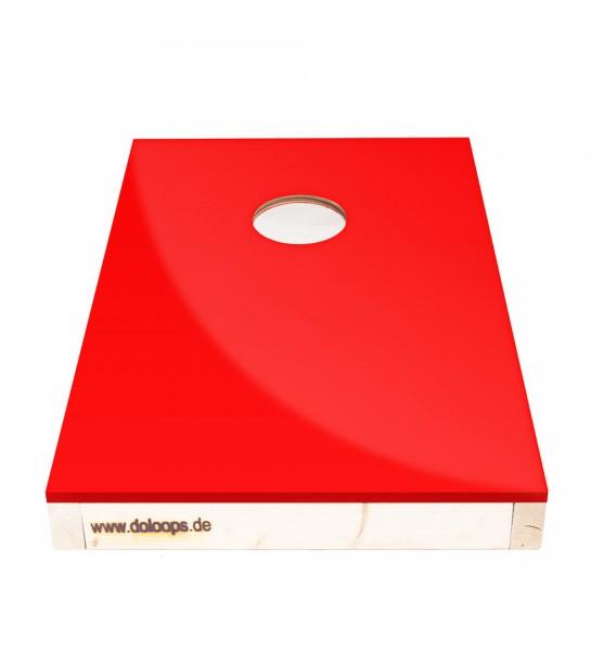 Cornhole Spielbrett farbig - bringt Farbe in euer Spiel